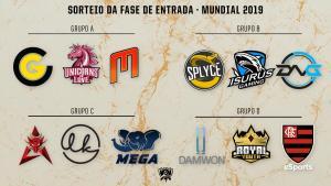 League of Legends: Flamengo disputará fase de entrada do Mundial 2019 em grupo com DAMWON e Royal Youth; Confira todos os grupos