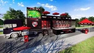 RED Truck HyperX chega a Santa Catarina para a segunda etapa da peneira de eSports que está percorrendo o Brasil