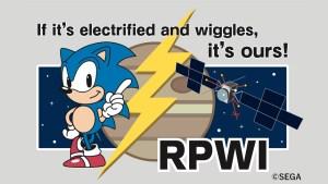 """Sonic pega """"carona"""" como mascote em missão espacial para Júpiter"""