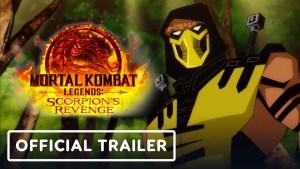 Animação Mortal Kombat Legends: Scorpion's Revenge divulga 1º trailer