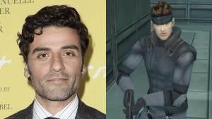 Oscar Isaac, que foi Poe Dameron em Star Wars, será Solid Snake em filme de Metal Gear Solid