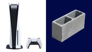 Homem paga quase US$ 900 por PS5 no eBay e recebe bloco de concreto