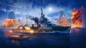 World of Warships lança evento do Ano Novo Lunar de 2021