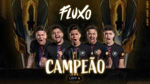 Fluxo é campeã da Liga Brasileira de Free Fire 4