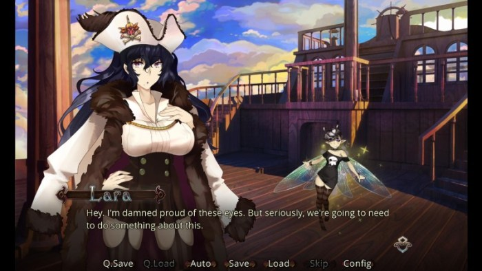 visual novels - Mutiny