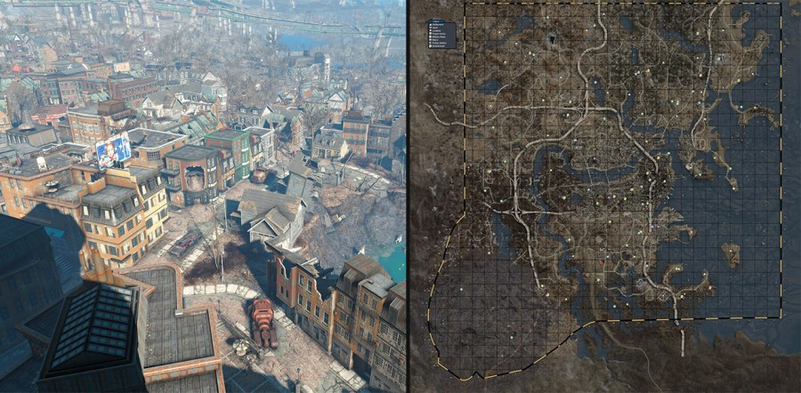 Fallout 4 vs skyrim map size hd images wallpaper for downloads video nintendo world report gta map size comparison diving thexperience co gta biggest open world game map size mangdienthoai com siz feerick co biggest gumiabroncs Image collections