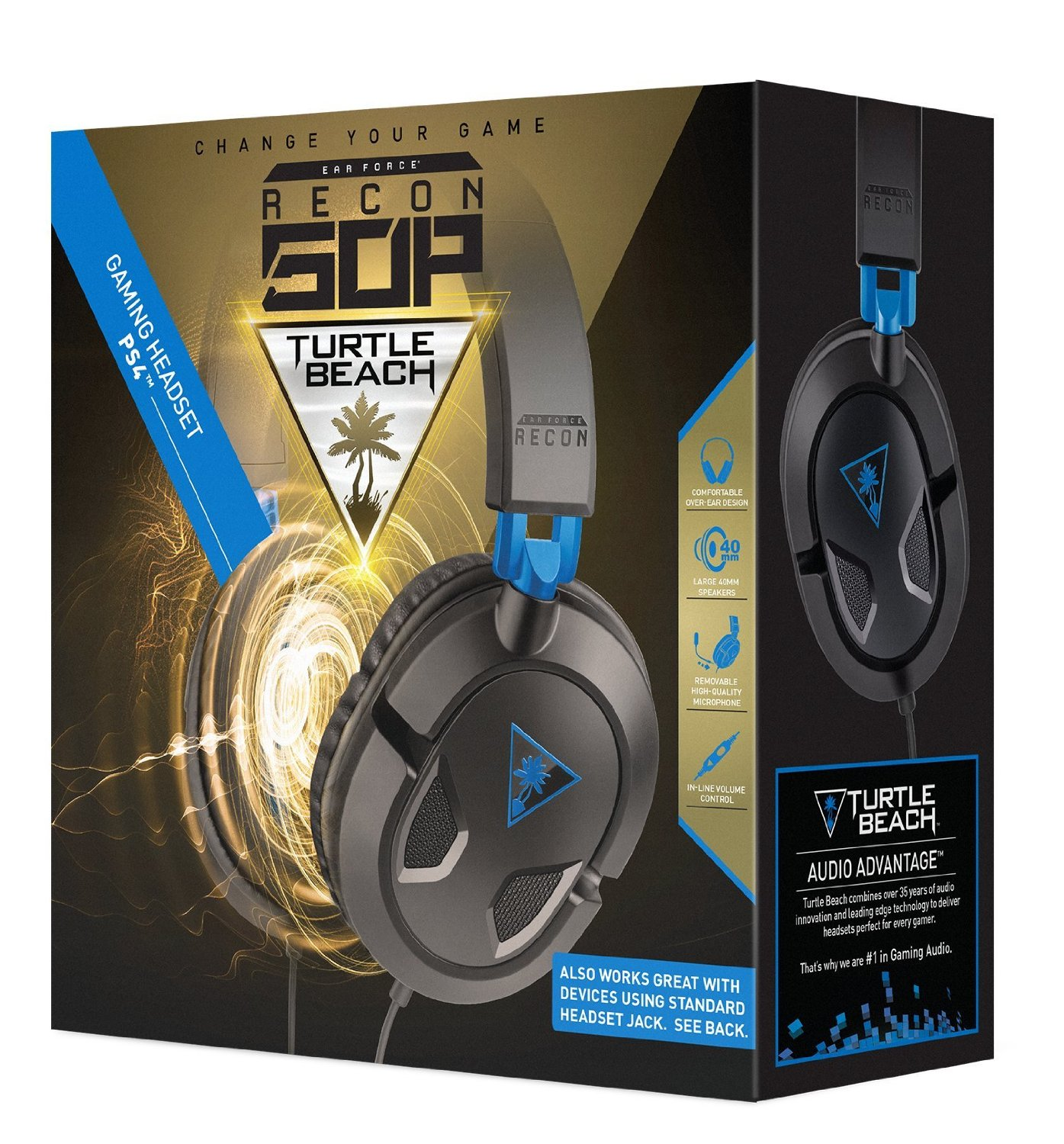 Turtle Beach Ear Force Recon 50P And 50X Gaming Headsets Released In US Game Idealist