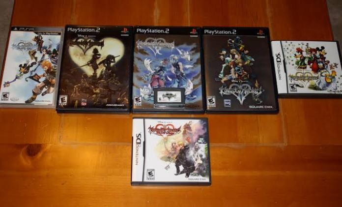 Kingdom of Hearts all games