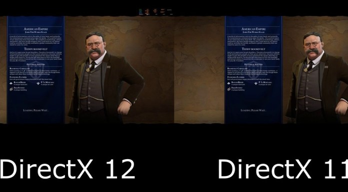 civ 6 directx 11 or 12