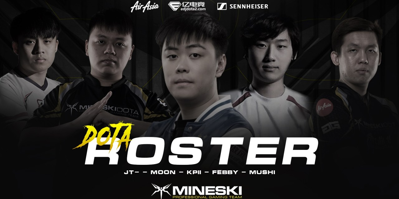 Mineski Pro Team announces new roster for 2018-2019 DPC season