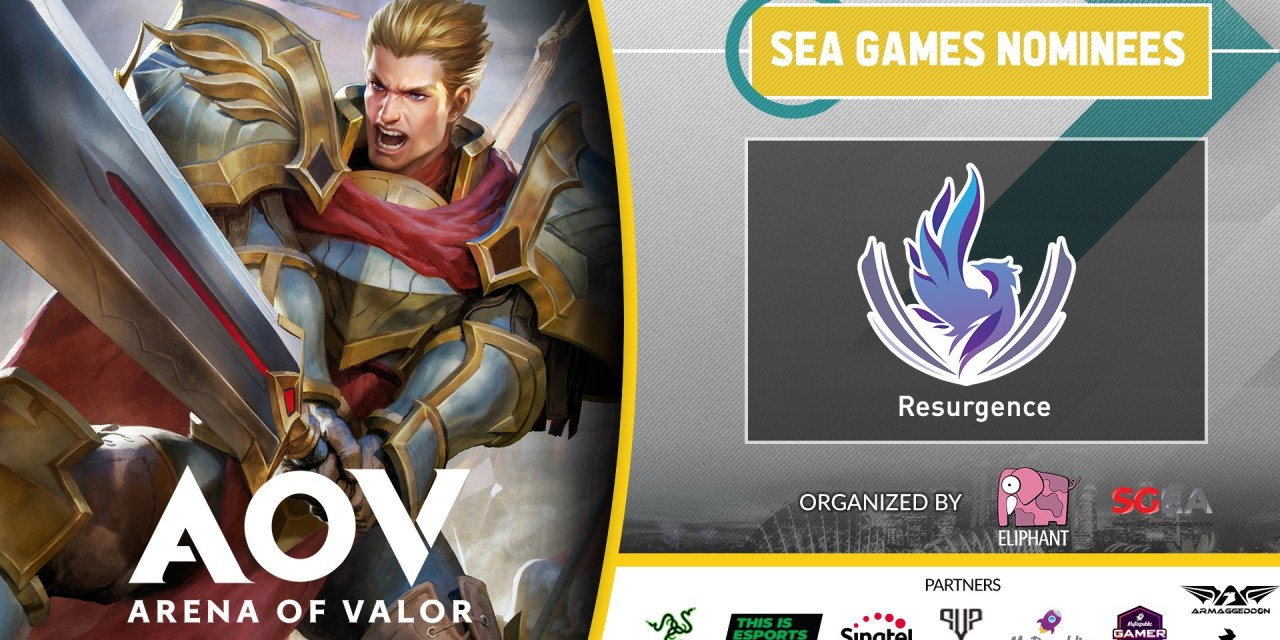 [AoV] Resurgence destroys all competition for SEA Games 2019 Nomination