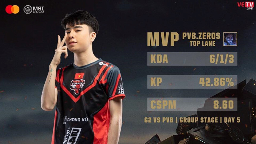 [Lolesports] VCS Scandal: GAM – PVB fight for Zeros