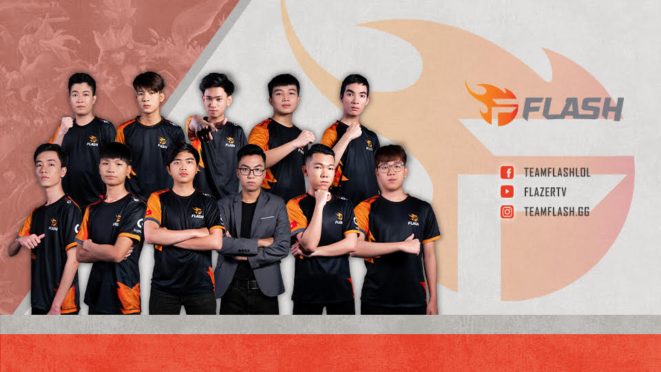 TEAM FLASH ACQUIRES SKY GAMING, ENTERS VIETNAM CHAMPIONSHIP SERIES TO MAKE WORLDS 2019