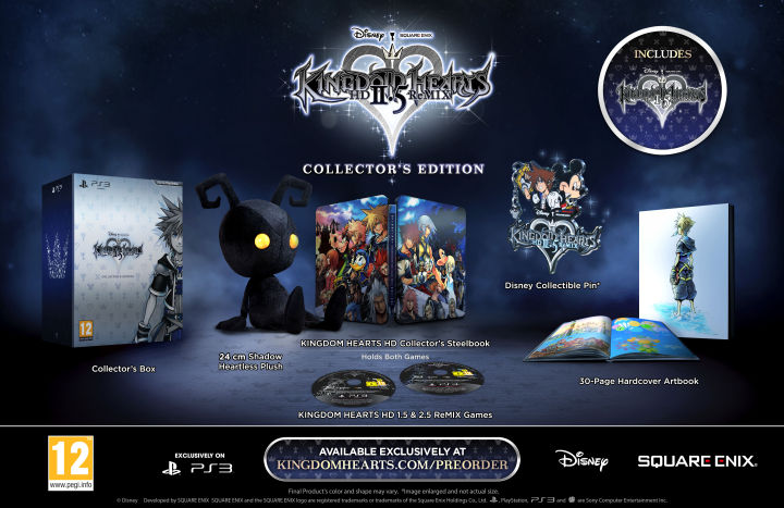 Kingdom Hearts 2 5 Collectors Edition combines the entire series