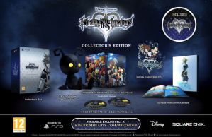 Kingdom Hearts 2.5 Collectors Edition combines the entire series, plush Heartless