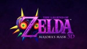 Legend of Zelda Majora's Mask set for a Spring 2015 release on 3DS