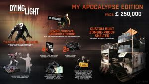 """Dying Light """"My Apocalypse"""" Edition costs a quarter of a million euros"""