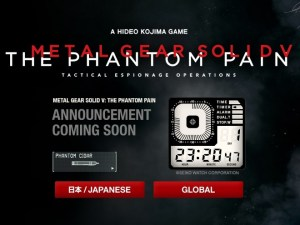 Metal Gear Solid 5 countdown teaser set for Wednesday