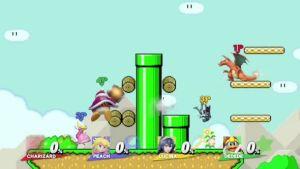 Mario Maker level coming to Smash Bros.