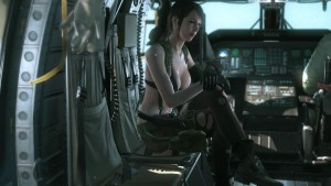 Metal Gear Solid V Quiet Glitch fixed on PS4 and PC.