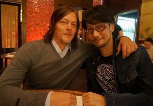 Hideo Kojima Meets Up With Norman Reedus
