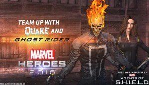 Marvel Heroes adds Ghost Rider and Quake in time for new Agents of SHIELD