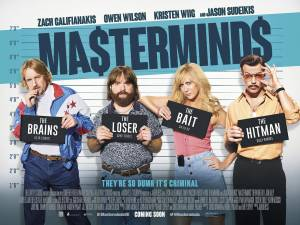 Film Review: Masterminds is sure to be a glorious cult classic