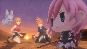 World of Final Fantasy gets a demo next week