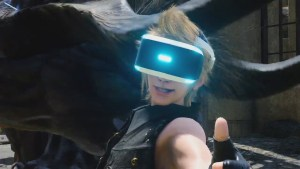 Final Fantasy Prompto VR mode cancelled