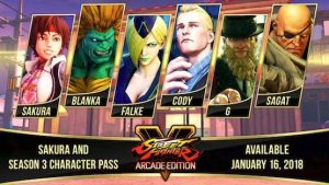 Season 3 of Street Fighter V brings back some fan favourites