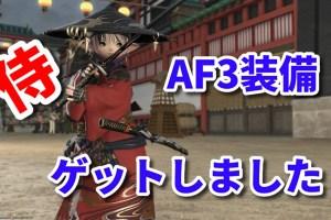 侍 AF装備
