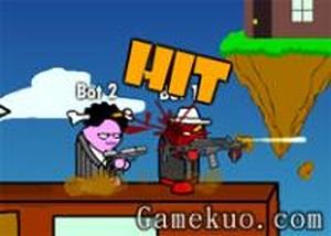 雙人混亂大槍戰 - 小遊戲谷