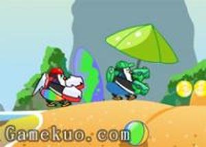 超級企鵝雙人無敵版 - 小遊戲谷