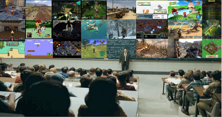 Video Games In The Classroom  Cover Image Credit  http   gamelab mit edu