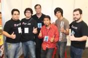 El equipo de Gamelixir y el equipo del TIO Strigs