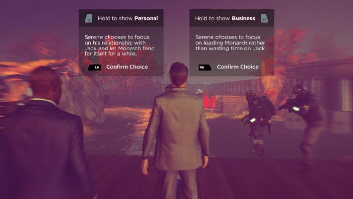 Cada episodio podrás tomar una decisión que afectara el contexto que toma la historia.