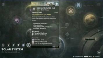 Actualización de dificultad antiguas incursiones