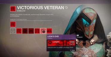 Victorious Veteran