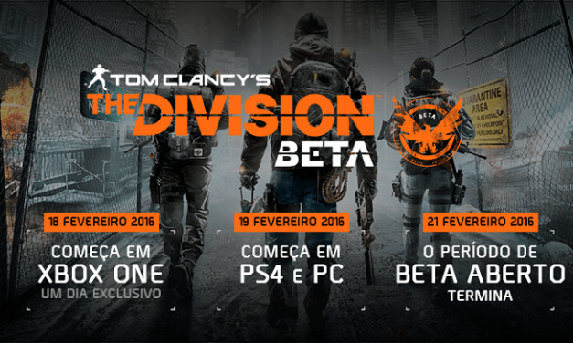[GAME] The Division beta Liberado Download!