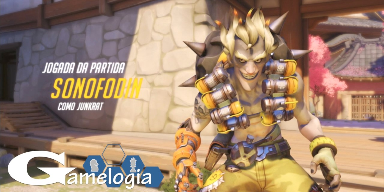 Vídeo novo no Canal – Overwatch Junkrat