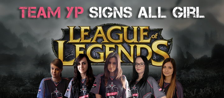 YouPorn anuncia line-up feminina de League of Legends!