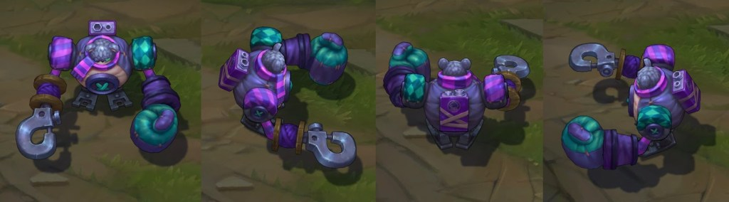 League of Legends Blitzcrank 3 1024x284 - League of Legends - PBE 10/01 - Rework Warwick, Novas Skins, Nerfs em Darius, Katarina, Yasuo