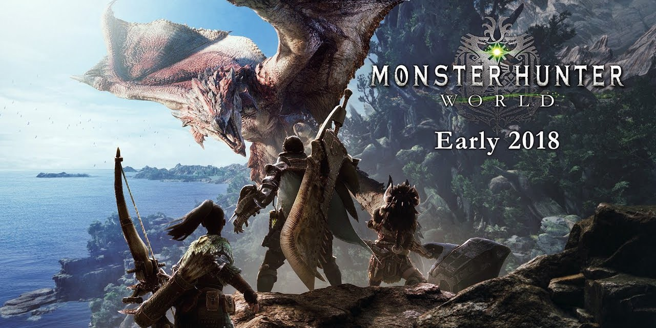 Monster Hunter: World – Data de lançamento para Xbox One e Playstation 4 é apresentada!