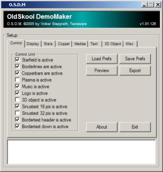 OldSkool DemoMaker