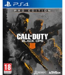 Buy PS4  New Pre Owned  Games Online In India   GameLoot Call Of Duty Black Ops 4 Pro Edition PS4