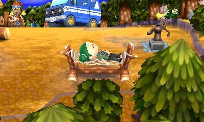 『とびだせ どうぶつの森 amiibo+』オートキャンプ場でゆったり