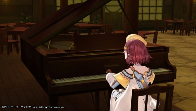 ソフィーのアトリエ ピアノ