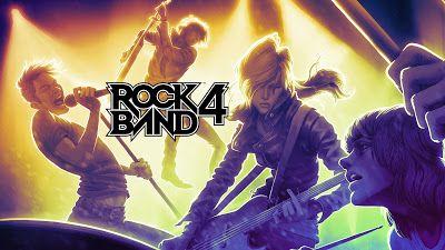 Rock Band 4 portada
