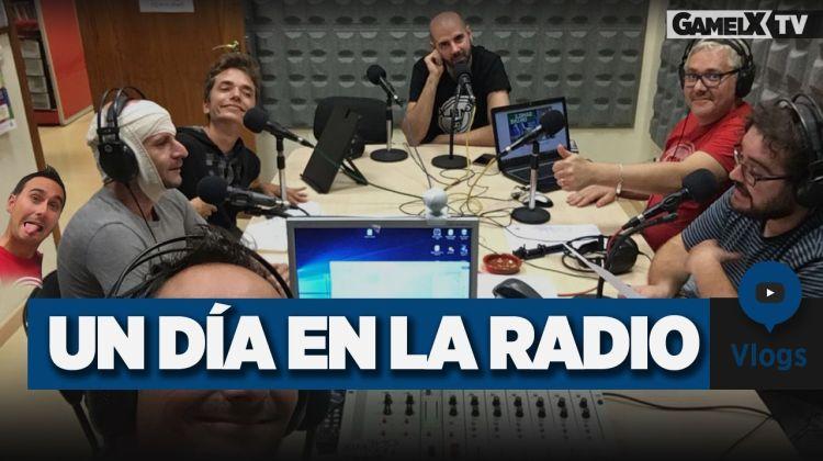 cómo es un día en la radio