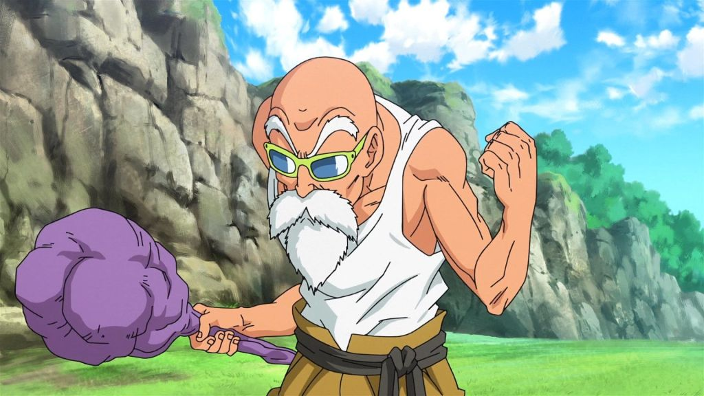 maestro Roshi en Dragon Ball FighterZ